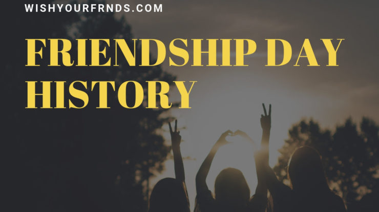 friendship day history