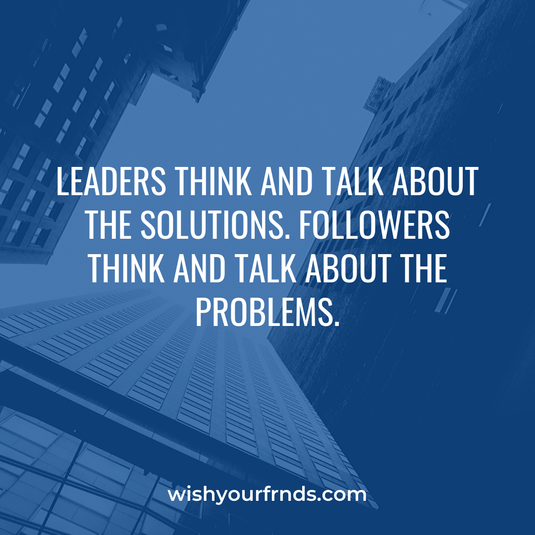 What is Leadership Quotes