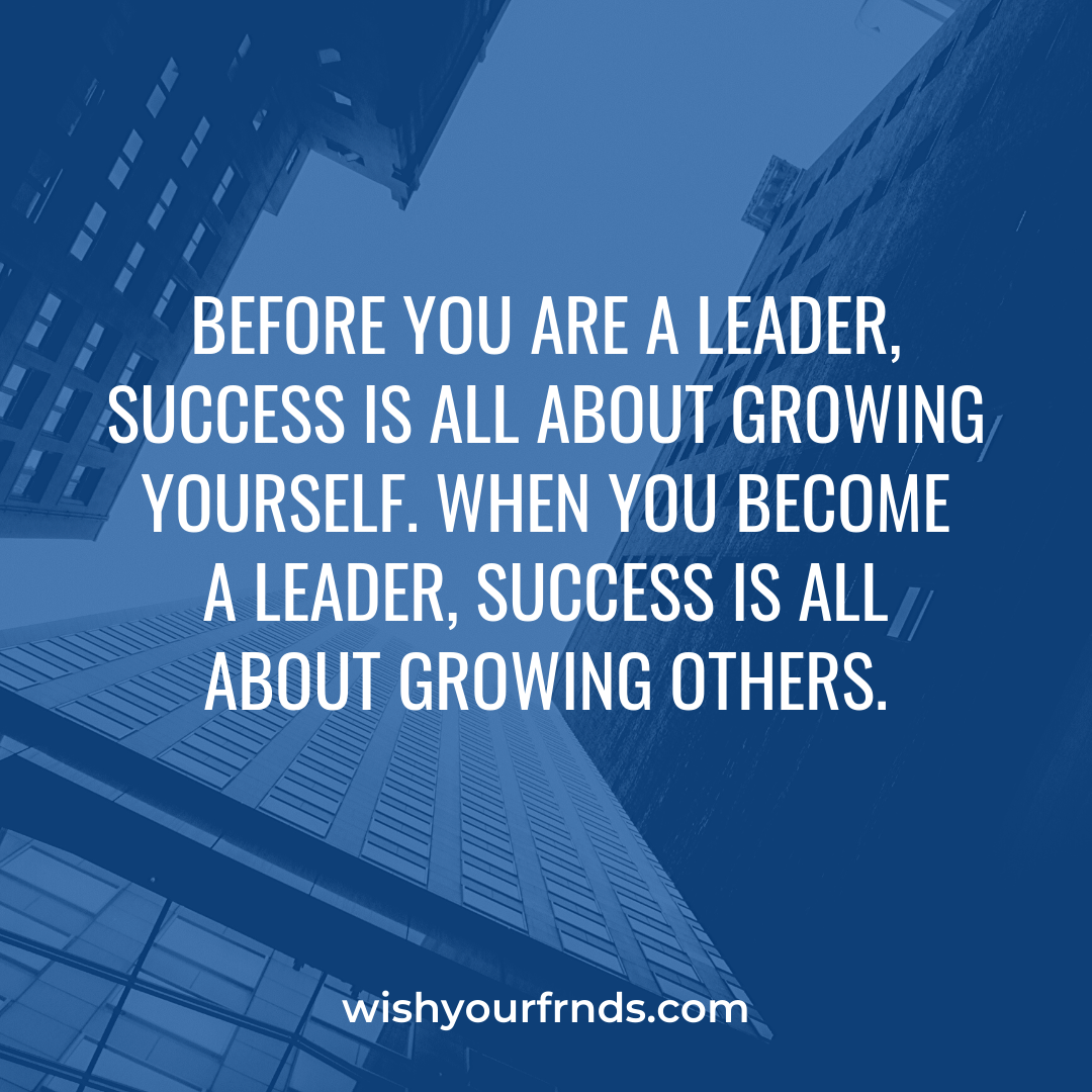 Leadership Quotes Short