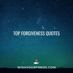 forgiveness quotes