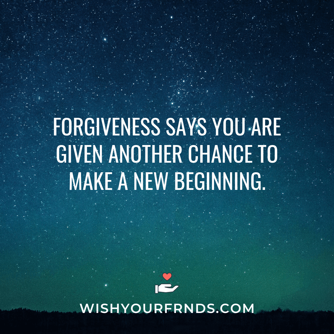 Inspirational Quotes on Forgiveness