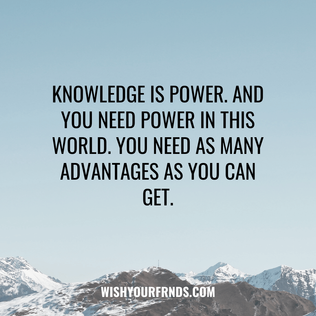 Quotes on Knowledge