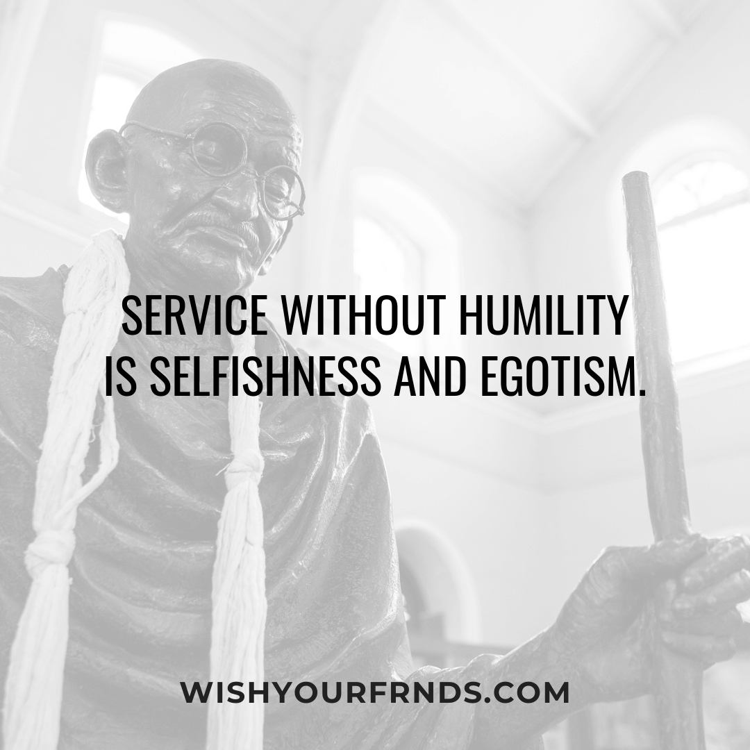 Mahatma Gandhi Quotes Leadership