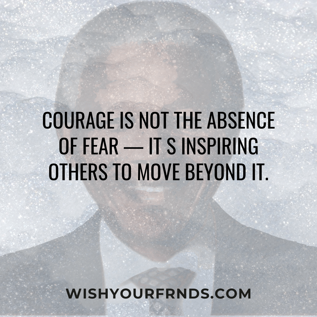 Nelson Mandela Quotes About Fear