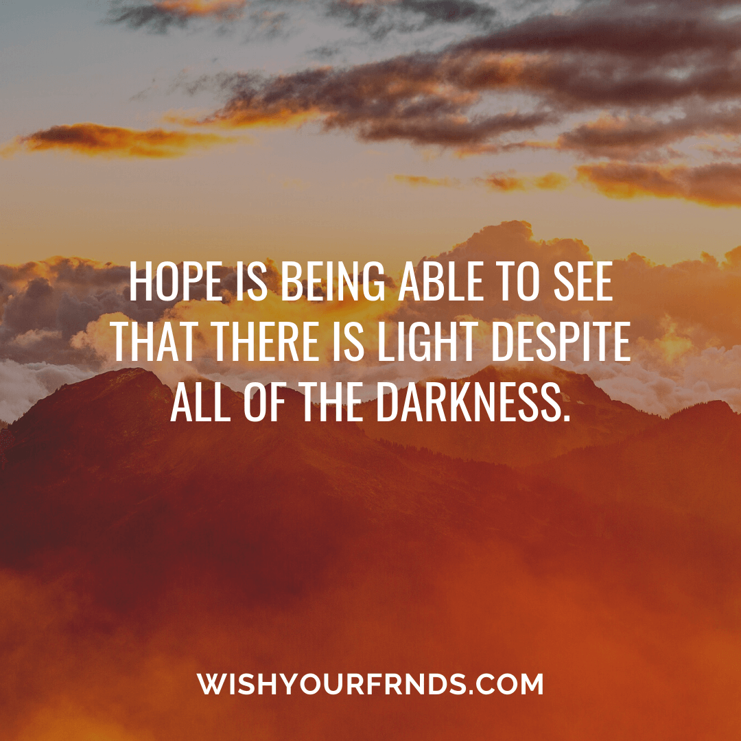 Quotes About Hope And Faith