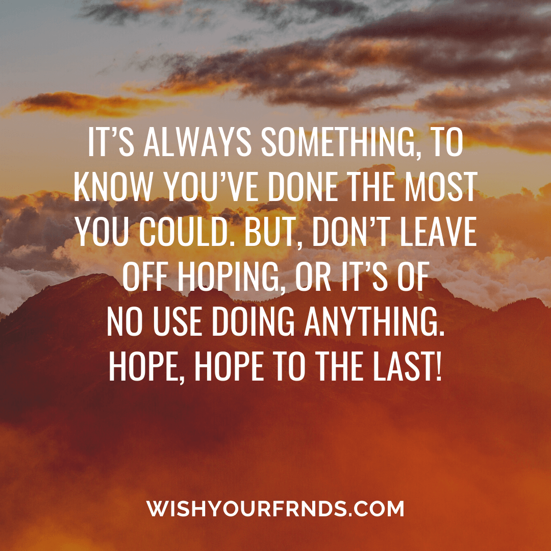 Quotes About Hope And Strength