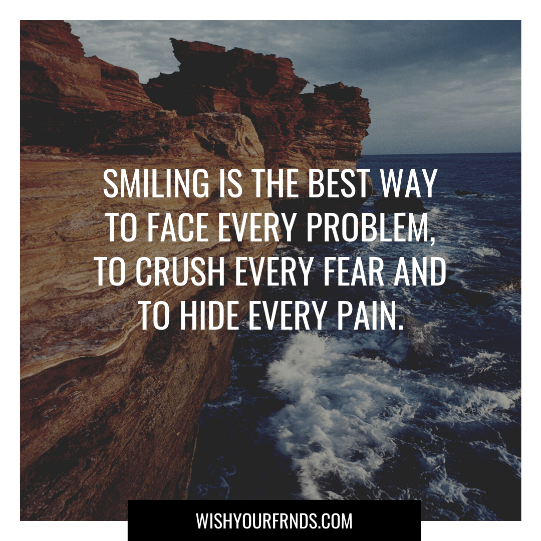 Happiness and Smile Quotes