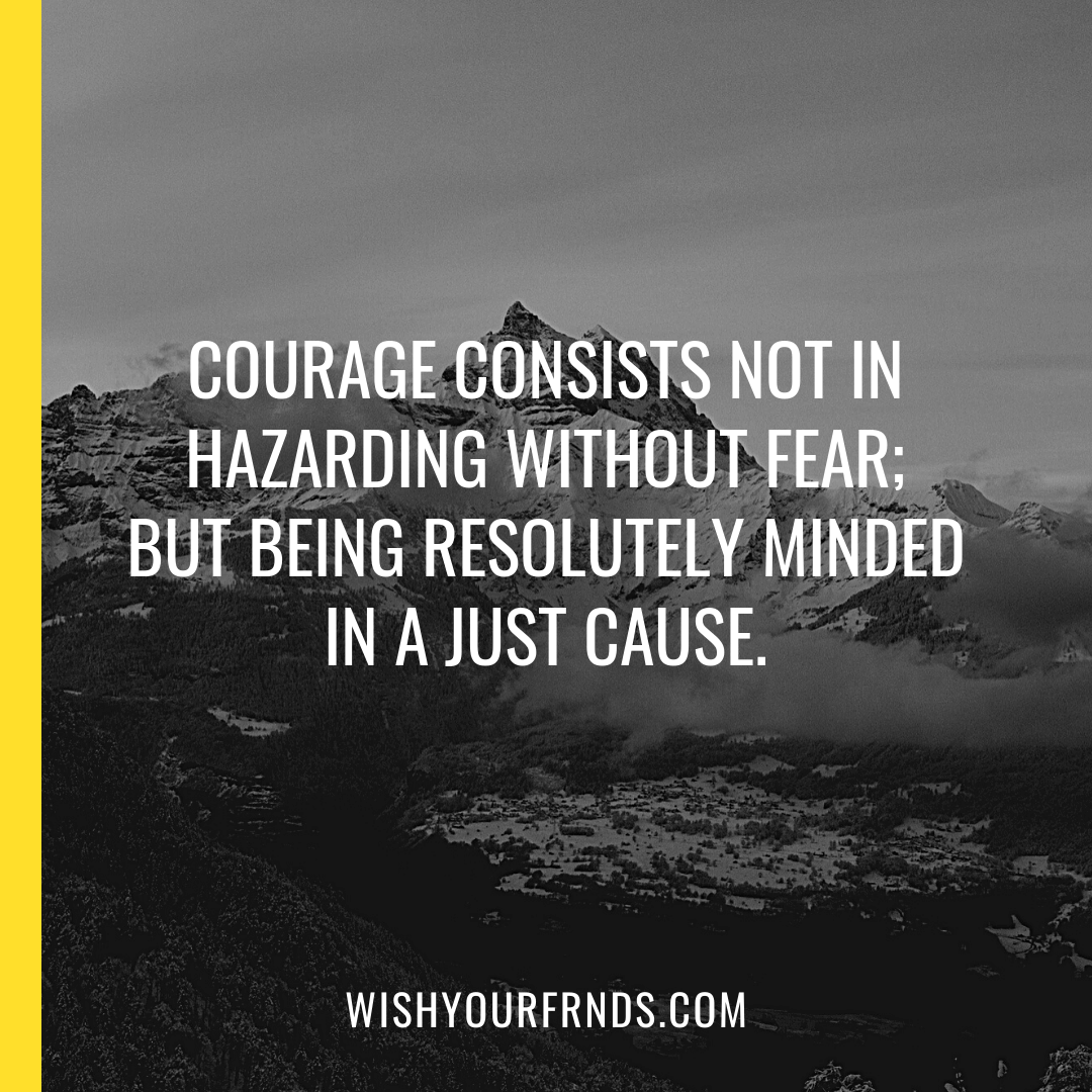 Courage is Quotes