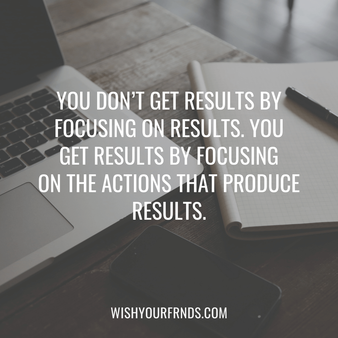 Focus Goals Quotes