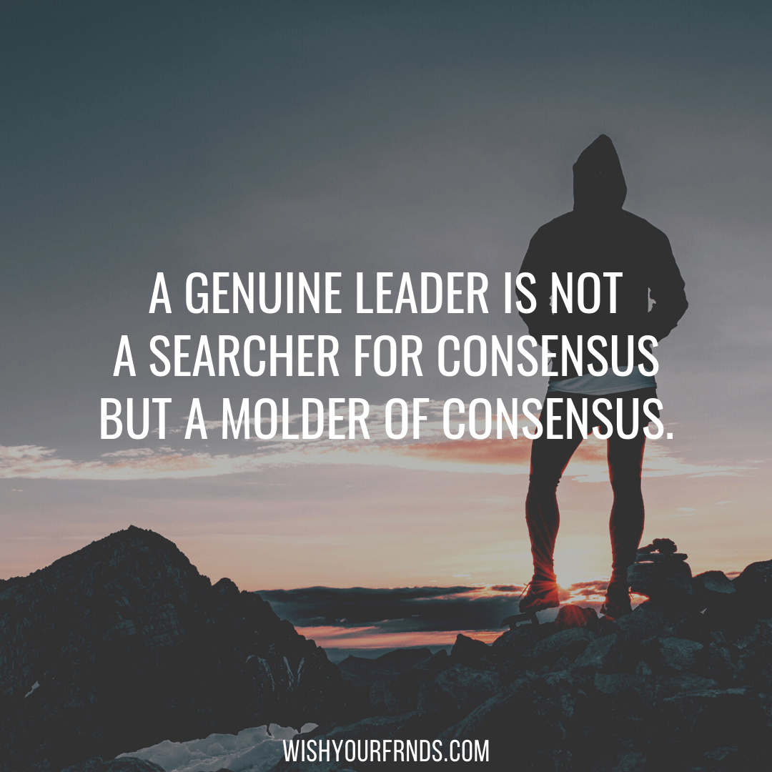 Leadership in Crisis Quotes