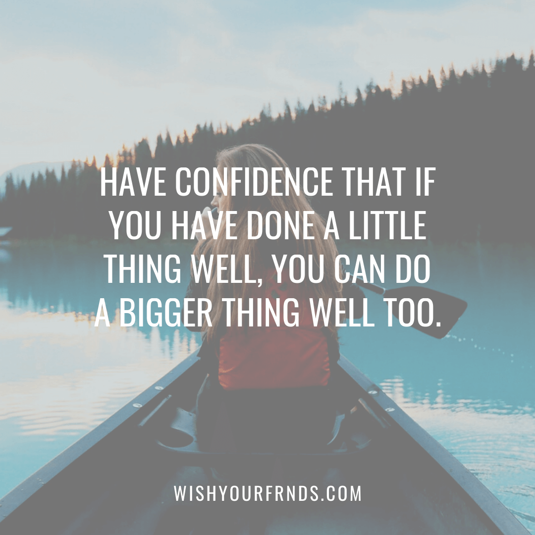 Self Confidence Quotes for Woman