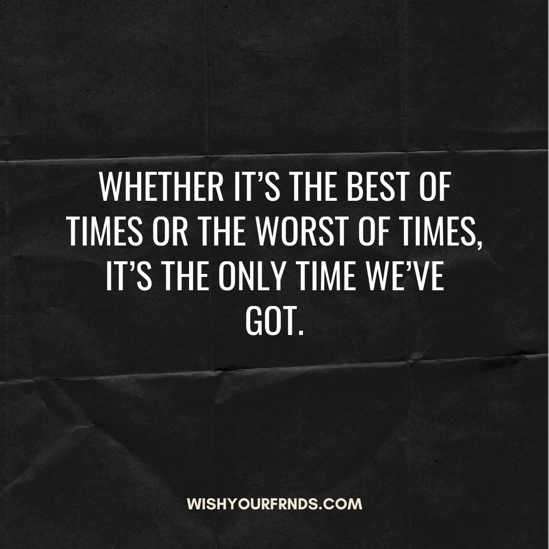 Importance of Time Quotes