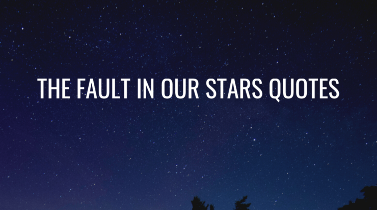 The Fault In Our Stars Quotes Featured Image